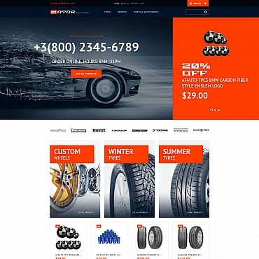 Template MotoCMS Ecommerce Templates #65057