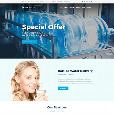 Website Template № 65076