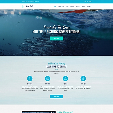 Website Template № 65100