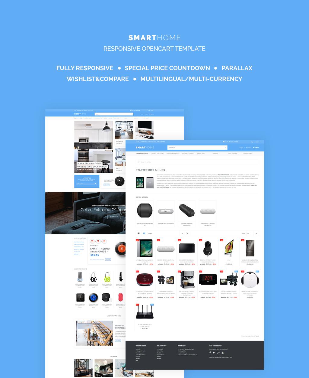 Electronics Responsive OpenCart Template