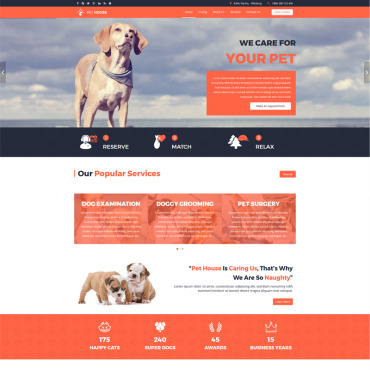 Template Animale de companie Joomla #65138