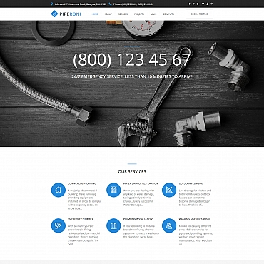 Website Template № 65268