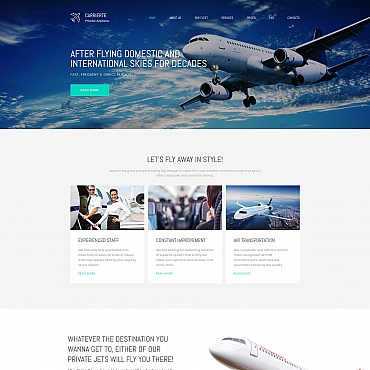 Template Transport Moto CMS 3 #65306
