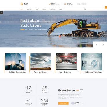 Template Industriale Joomla #65340