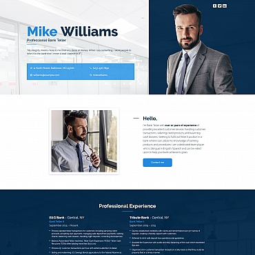 Template Landing Page #65373