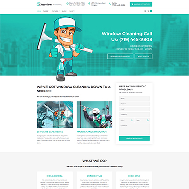 Website Template № 65463