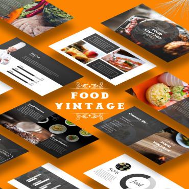 Template Mâncare și băutură PowerPoint #65490