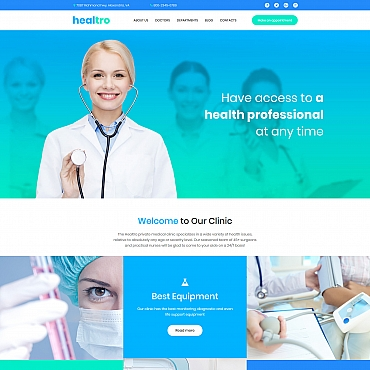 Website Template № 65566