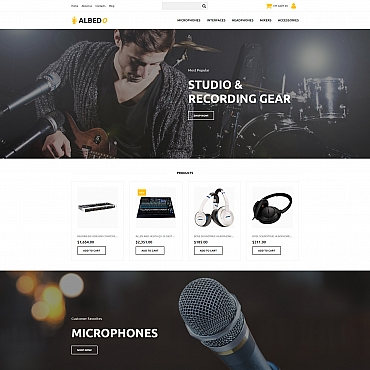 Template MotoCMS Ecommerce Templates #65586