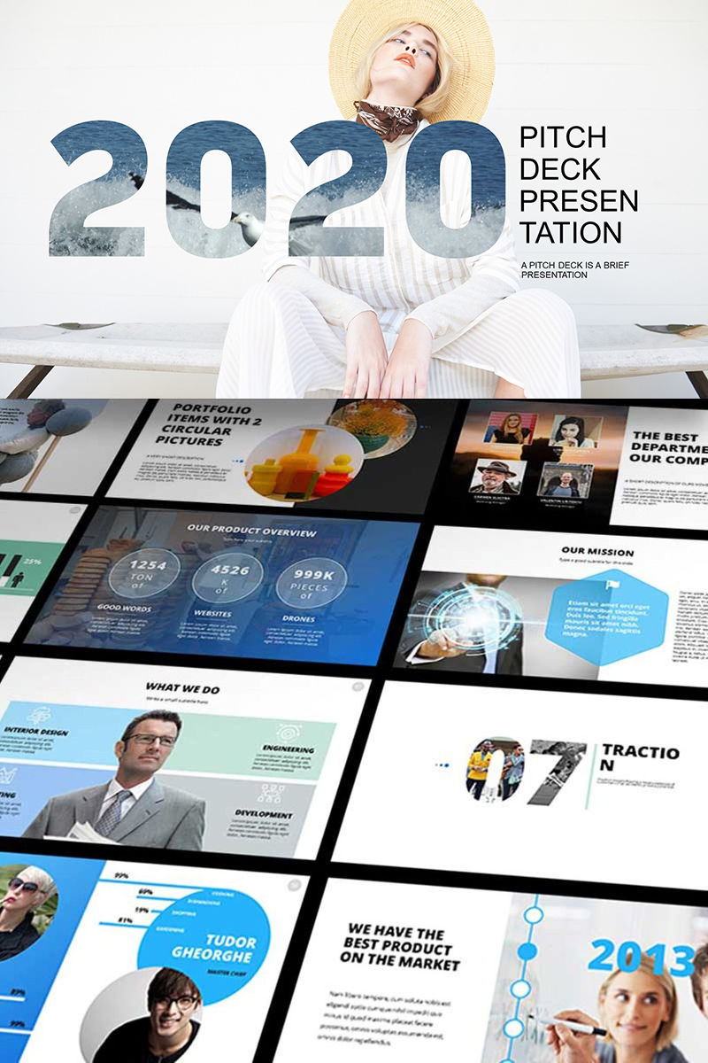 2021 Pitch Deck PowerPoint template