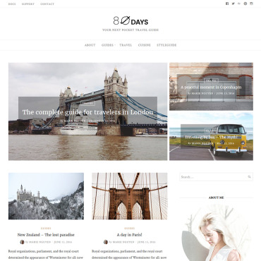 Website Template № 65640