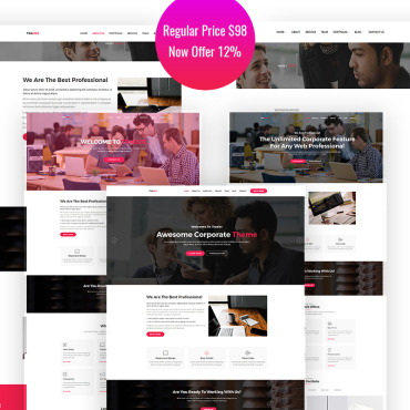 Website Template № 65843