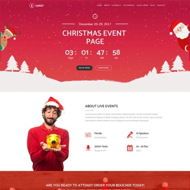 Template Page d'atterrissage #65920