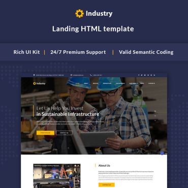 Website Template № 66005