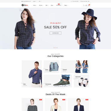 Website Template № 66134