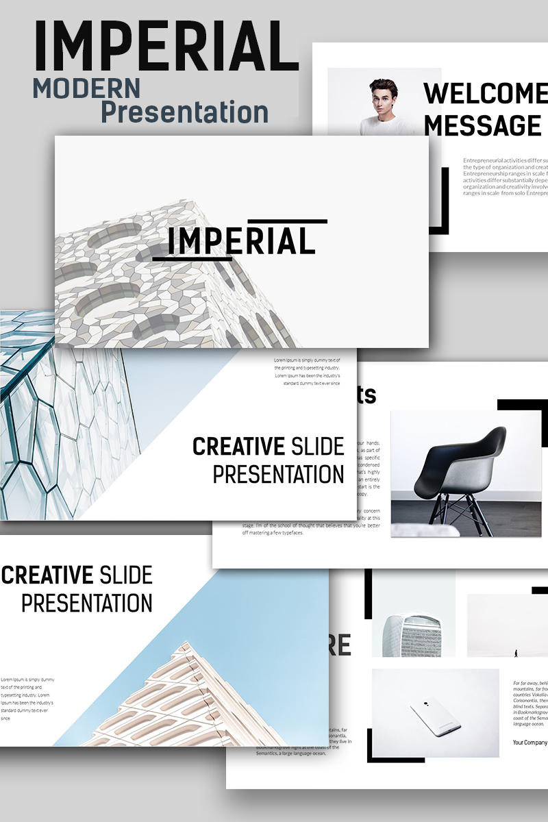 Imperial Modern PowerPoint Template
