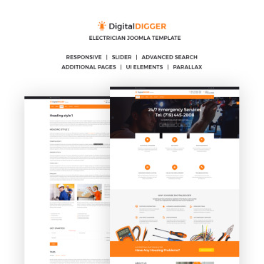 Website Template № 66301