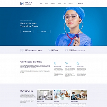 Website Template № 66408