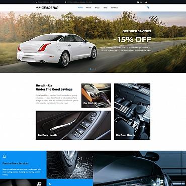 Template Mașini MotoCMS Ecommerce #66554