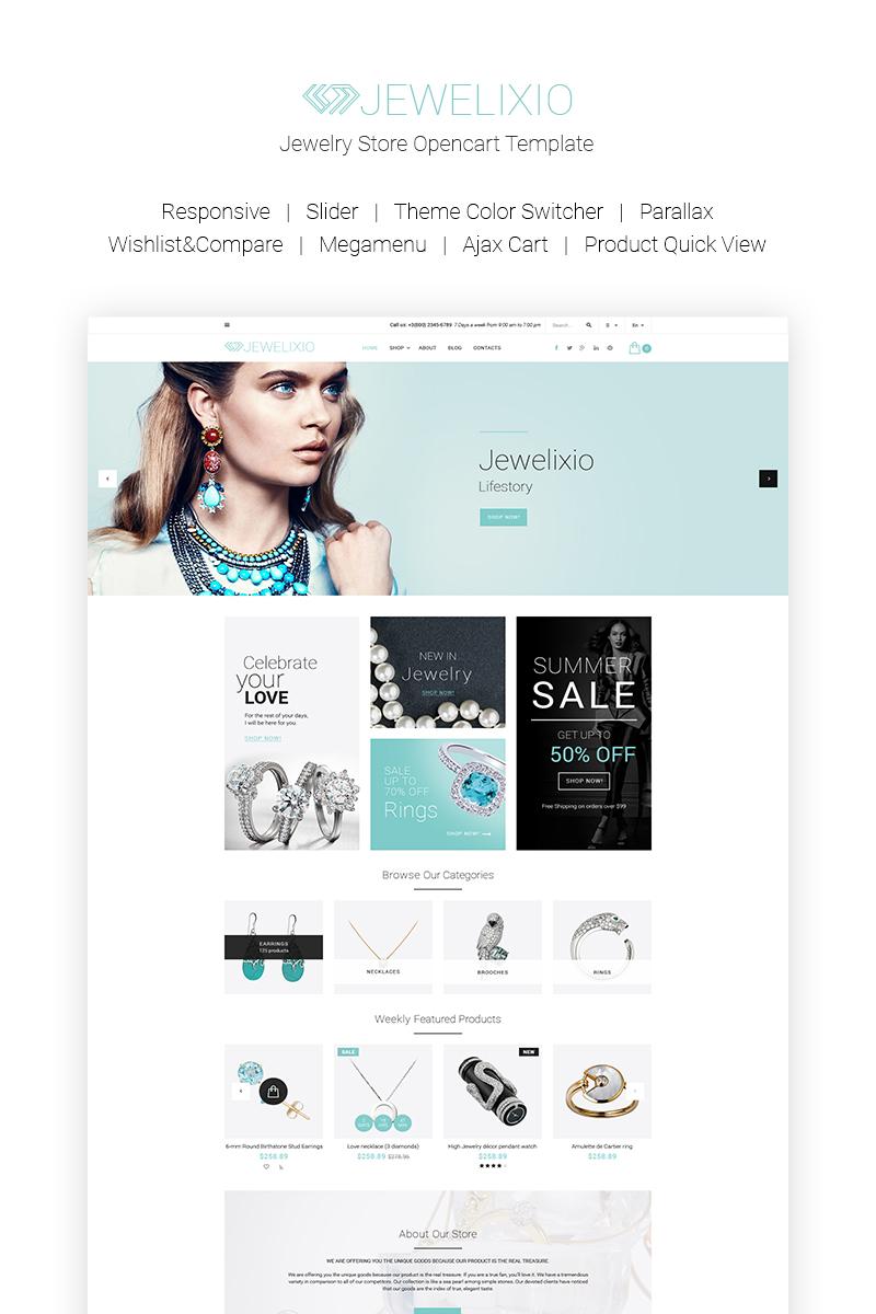 Jewelixio - Jewelry Store OpenCart Template