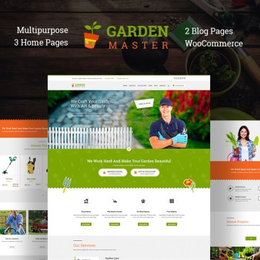Template Agricultură WordPress #67136