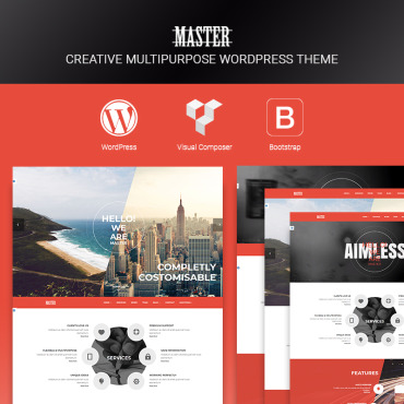 Template Afaceri WordPress #67162