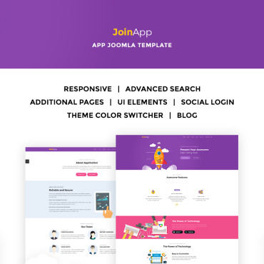 Template Software Joomla #67187