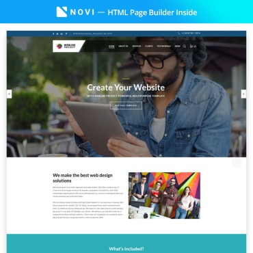 Template Afaceri Landing Page #67308