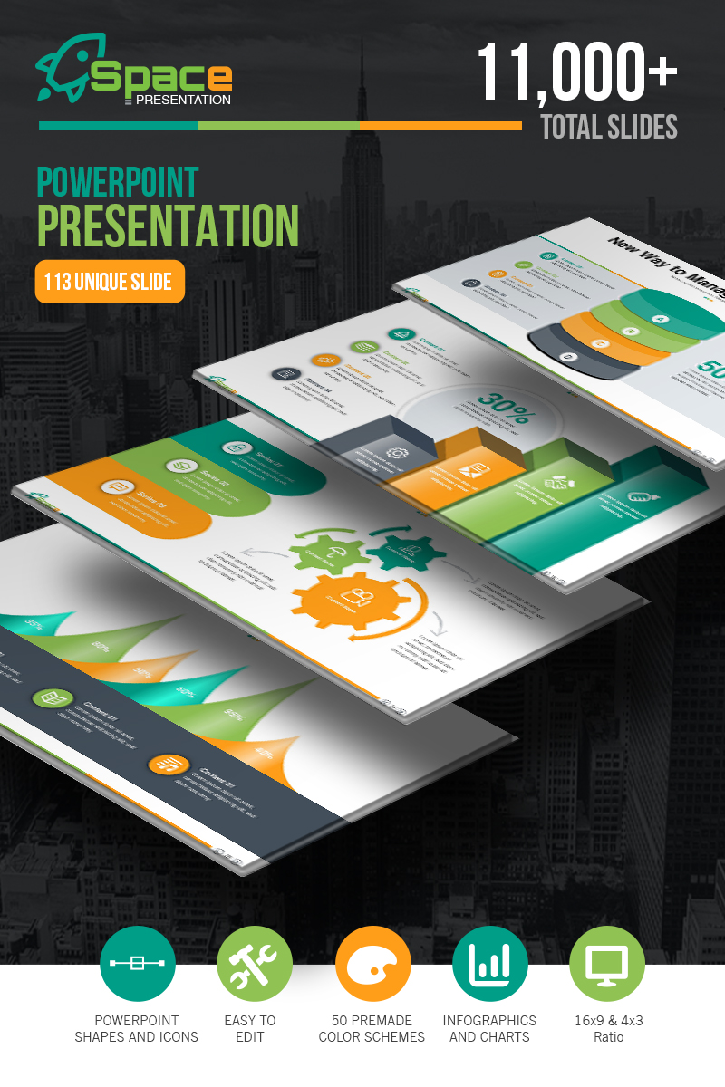 Startup Business - Presentation PowerPoint Template