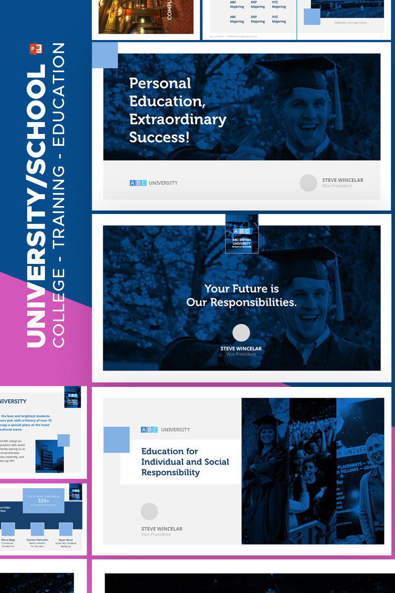 University Education - PowerPoint Template
