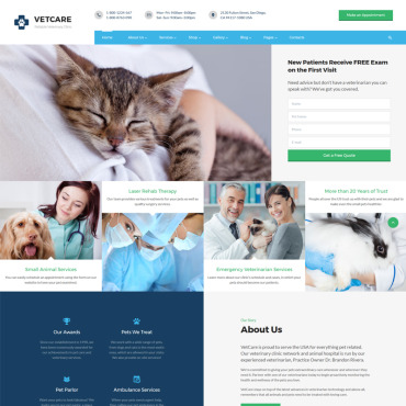 Website Template № 67627