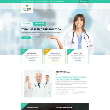 Template Medicină HTML, JS şi CSS #67698