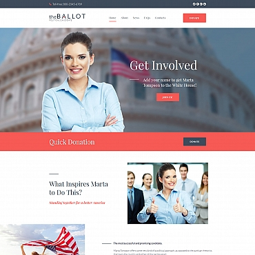 Website Template № 68001