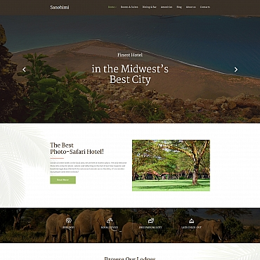 Website Template № 68007