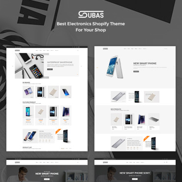 Template Electronice Shopify #68098