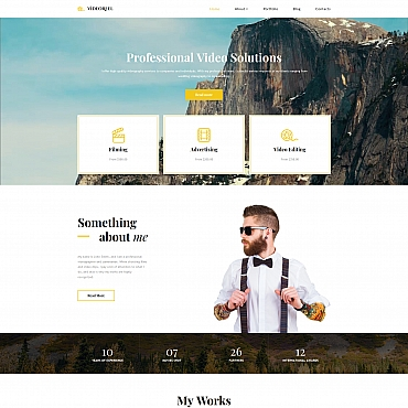 Website Template № 68158