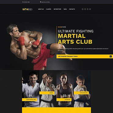 Website Template № 68176