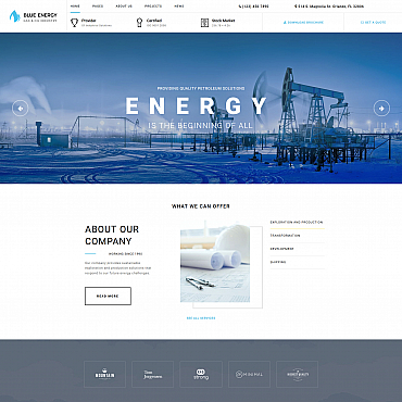 Website Template № 68185