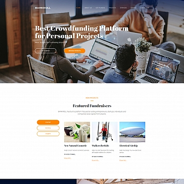 Website Template № 68200