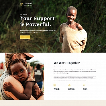 Website Template № 68202