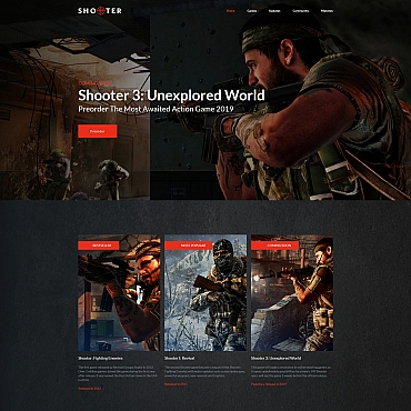 Website Template № 68203