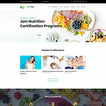 Website Template № 68204