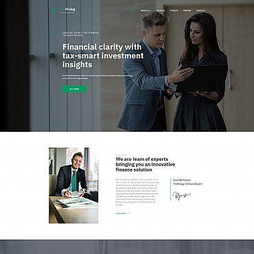 Website Template № 68206
