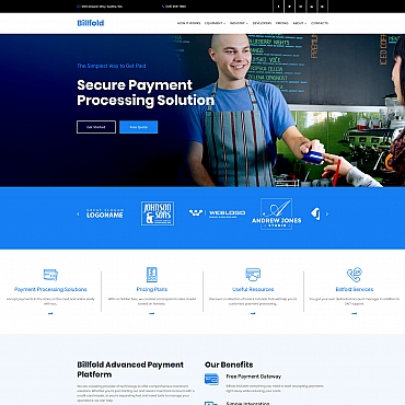 Website Template № 68210