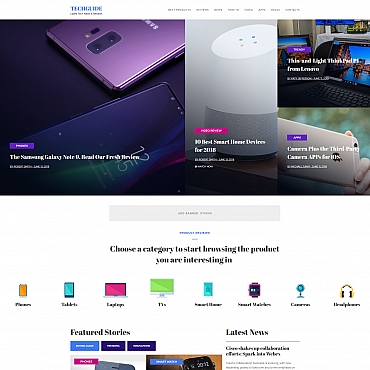 Website Template № 68213