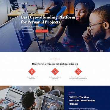 Template Afaceri Landing Page #68222