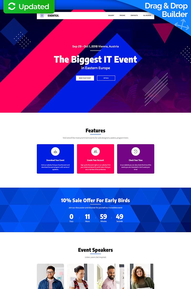Eventex - Corporate Event Landing Page Template
