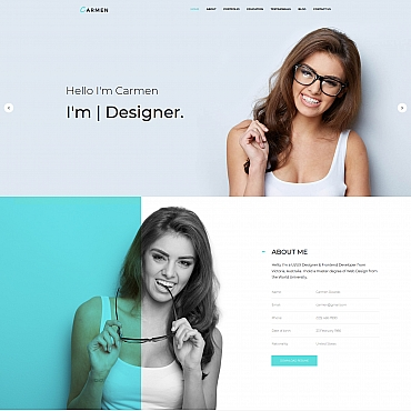 Template Web Design Moto CMS 3 #68245