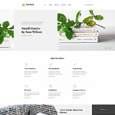 Website Template № 68256