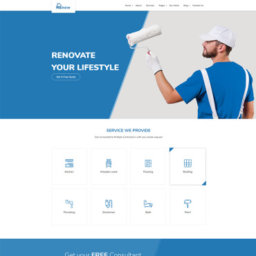 Website Template № 68295